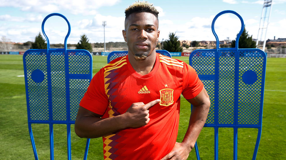 Spanish Football Adama Traore I Always Wanted To Play For Spain But I Had To Listen To Mali Out Of Respect Marca In English