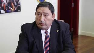 Sánchez Arminio, durante una entrevista con MARCA.