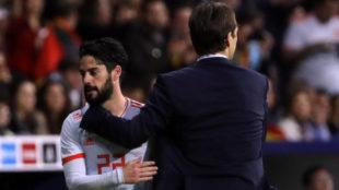 Lopetegui: I won't talk about Zidane's treatment of Isco