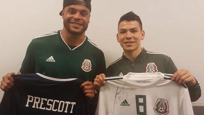 huge discount d7dc6 b5dc7 México vs Croacia: Dak Prescott apoya a la selección y ...