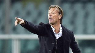 El entrenador de la selección de Marruecos en Turín