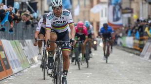 Peter Sagan, durante la Tirreno Adriático