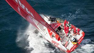 El MAPFRE, en la séptima regata de la Volvo Ocean Race