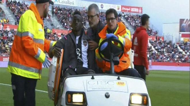 Levante: Boateng, operado con éxito de su fractura en el arco ...