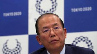 Toshiro Muto, CEO de los Juegos Olímpicos de Tokio 2020
