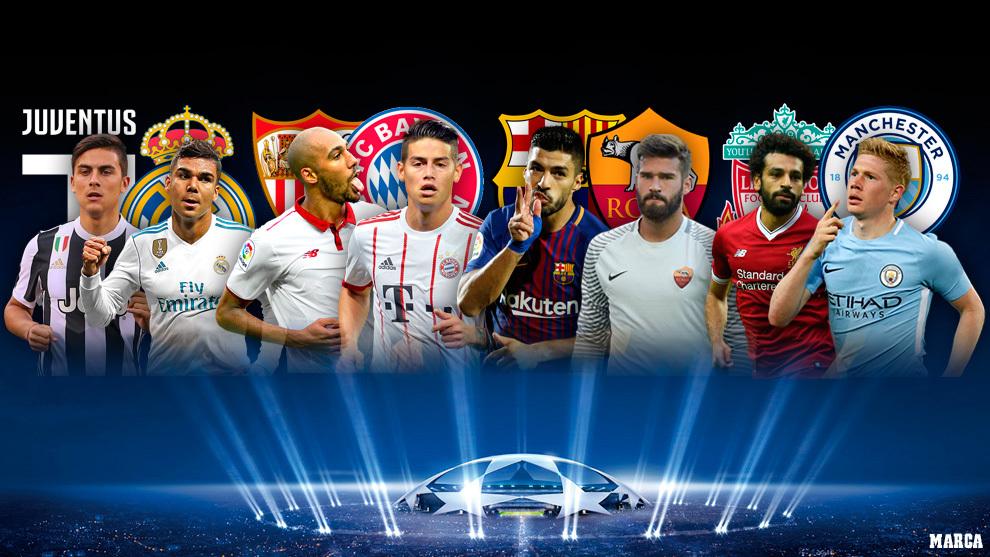 Champions League: Los cuatro duelos más calientes de los cuartos de ...