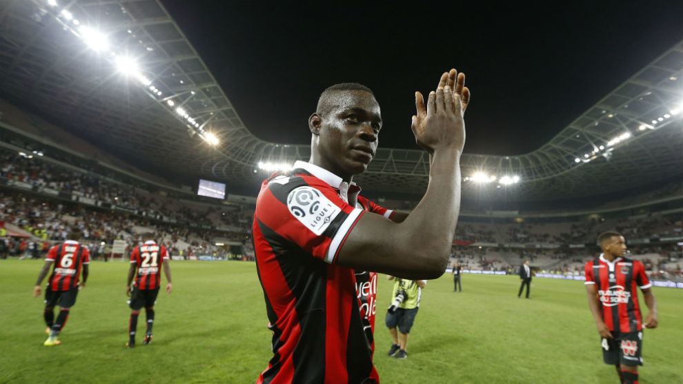 Balotelli, jugador del Niza