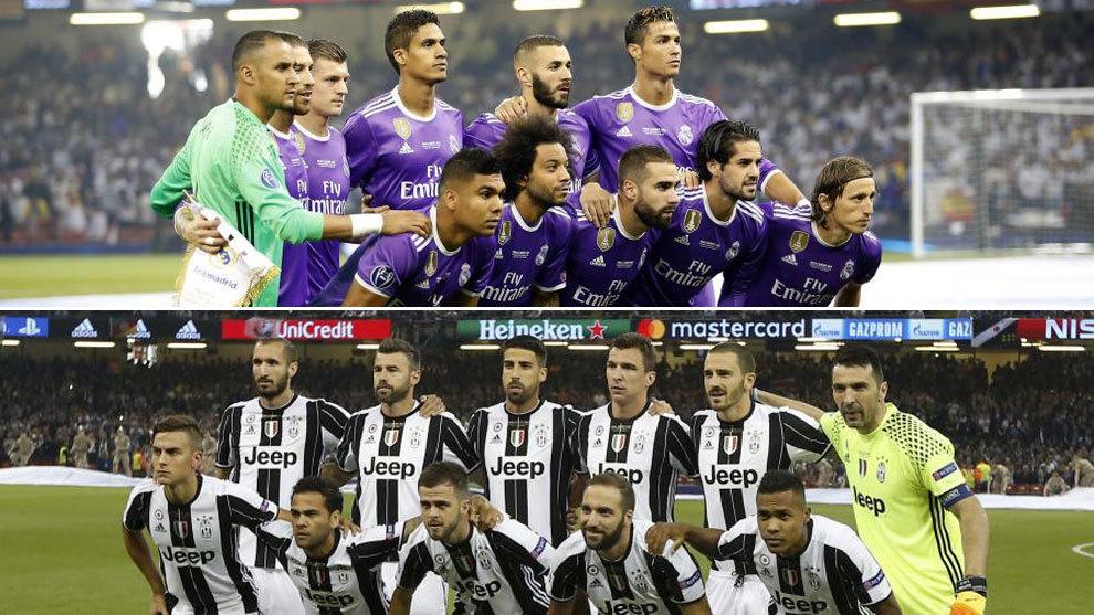 ce3269f8c04f7 Cinco diferencias entre el Real Madrid y la Juventus que jugaron la final  de Cardiff