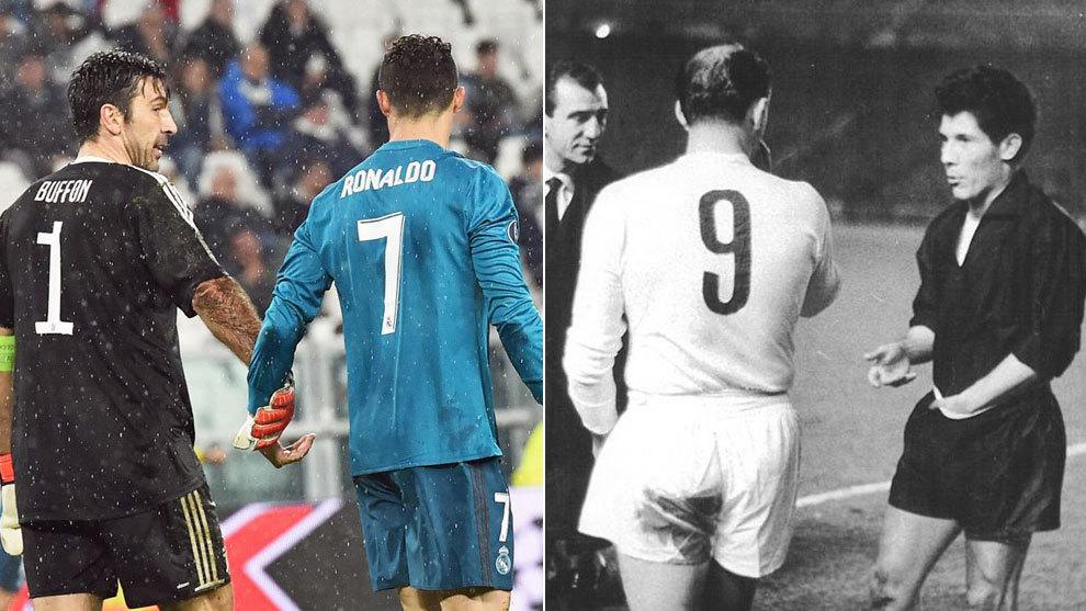 Cristiano y Buffon, este martes en el Juventus Stadium; Di Stefano y...