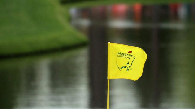 El Augusta National Golf Club engalanado ya para el Masters masculino