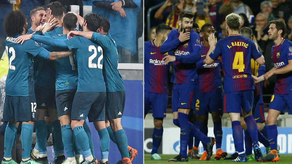 real madrid and barcelona still have a champions league duel on their hands