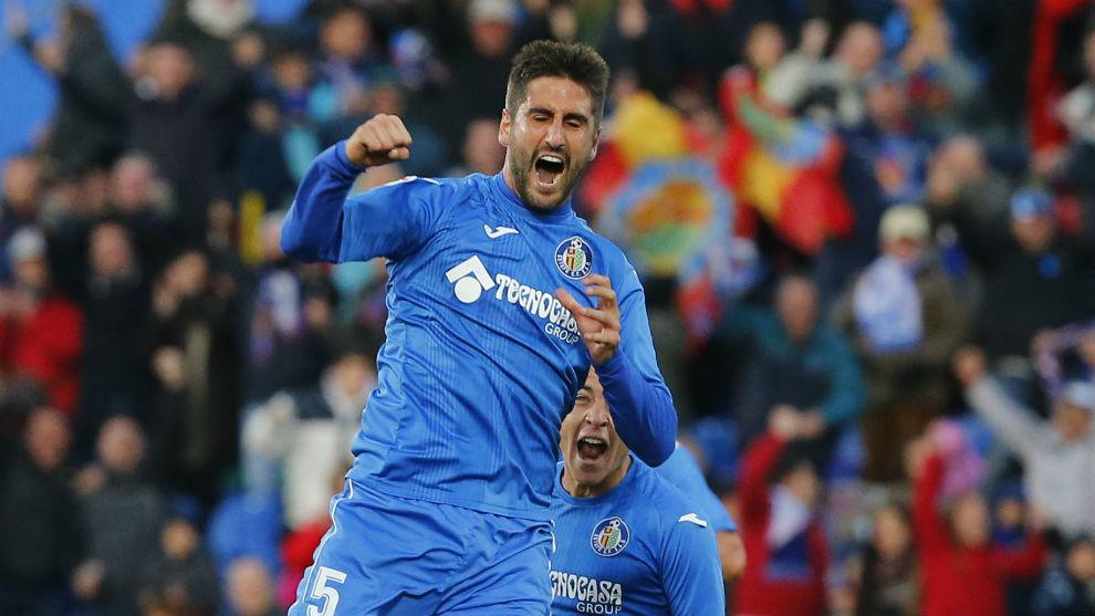 Bergara, jugador de la Real Sociedad cedido en el Getafe