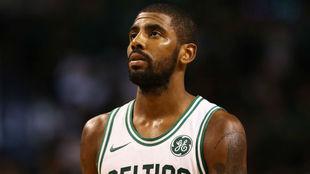 Irving, en un partido de los Celtics.