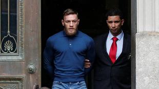 McGregor declarará ante un juez tras perder los estribos