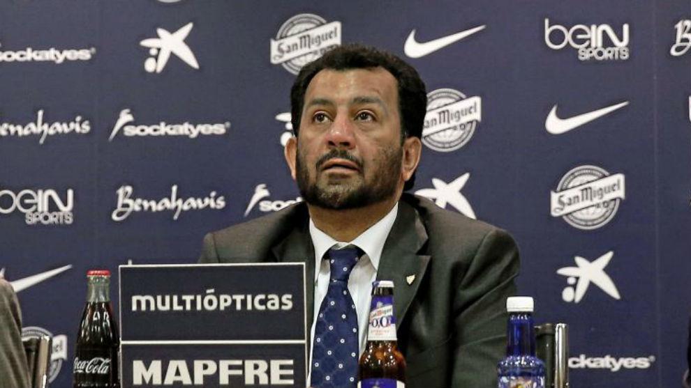 Abdullah Al-Thani, propietario del Málaga