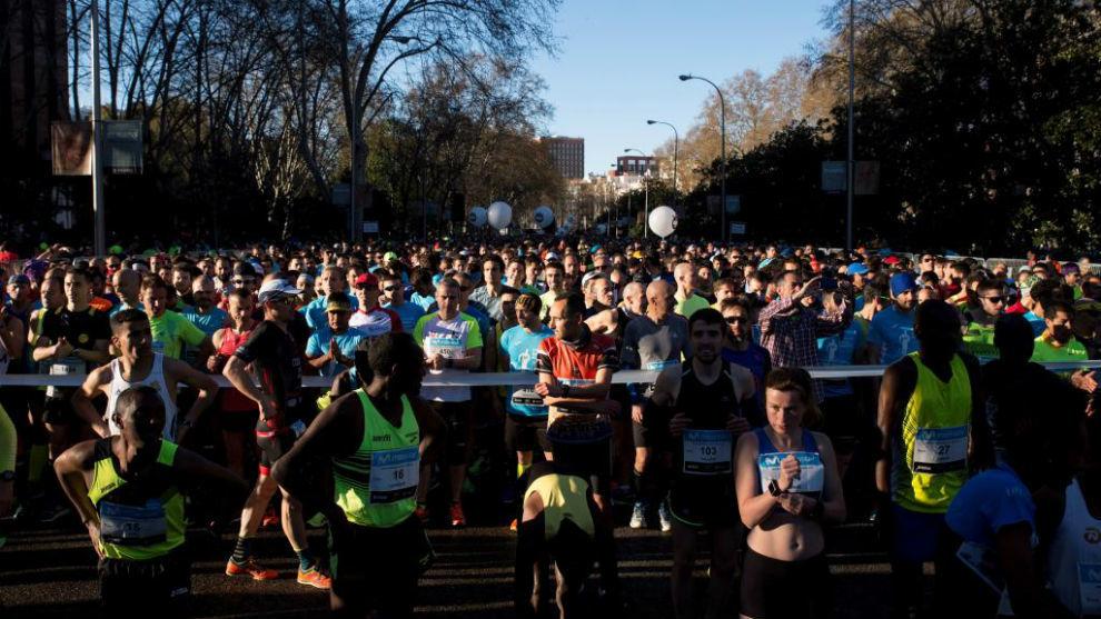 Corredores del Medio Maratón de Madrid
