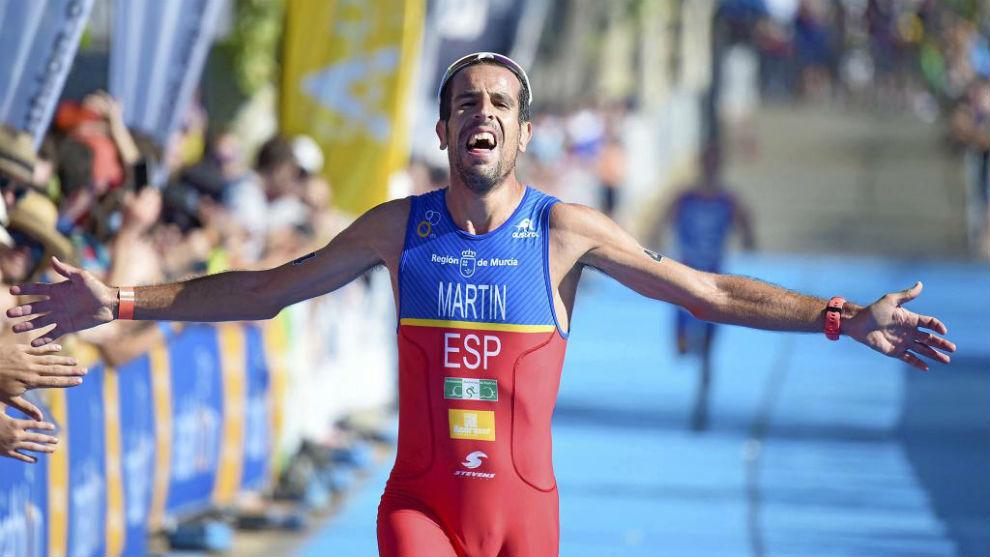 Emilio Martín, en un campeonato