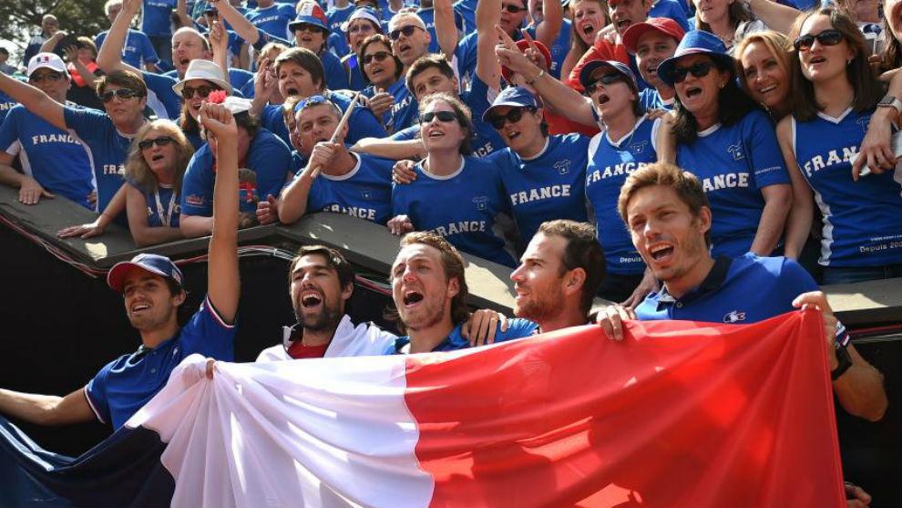 Francia celebra el triunfo en Genoa