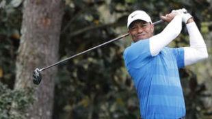 Tiger Woods, durante la tercera jornada del Masters.