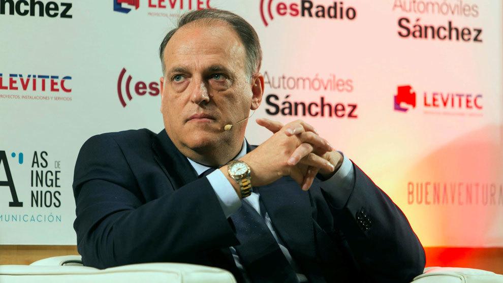 Javier Tebas, en una imagen de archivo.