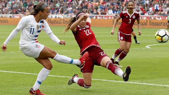Fútbol Femenil  La selección mexicana femenil vuelve a ser goleada ... c2a72f807f7e0