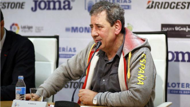 Ramón Cid, durante una comparecencia ante los medios