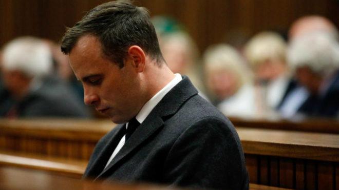 Oscar Pistorius durante el juicio.
