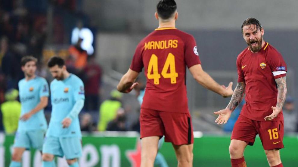 Resultado de imagen para Roma vs Barcelona