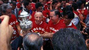 Toluca ganó su cuarto título de Liga ante Necaxa.