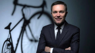 David Lappartient, presidente de la UCI