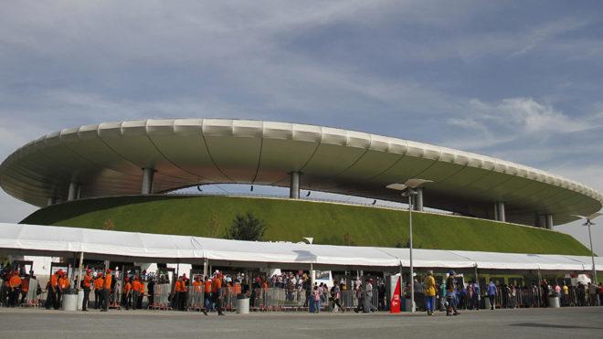 Estadio Akron, casa de las Chivas