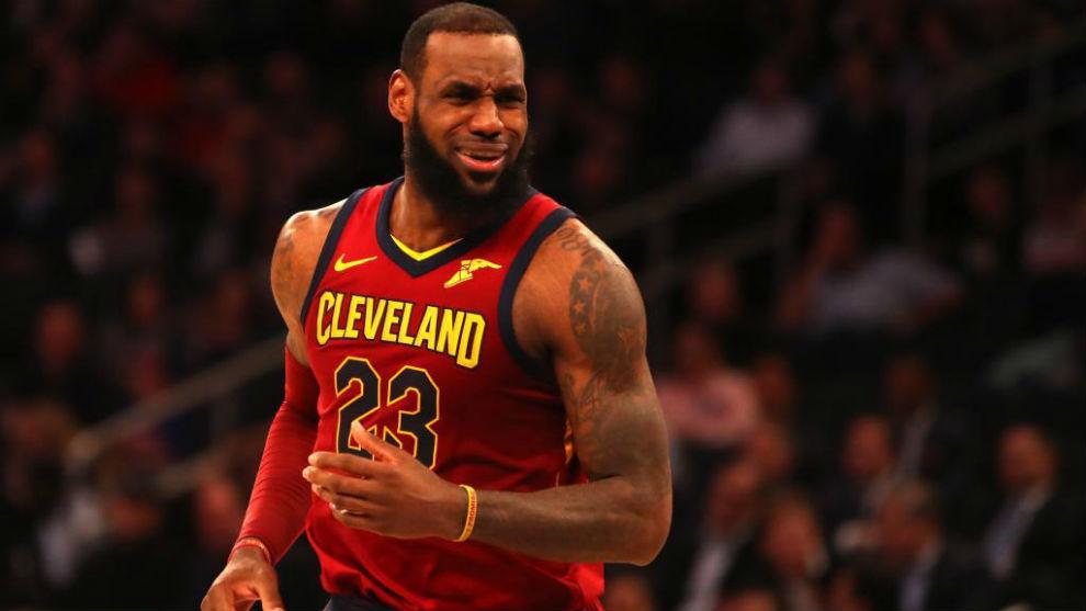 LeBron James sigue haciendo historia a sus 33 años