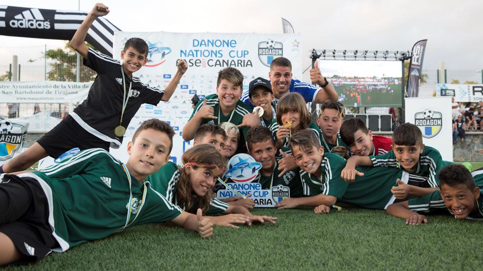 El C.F. Las Majoreras, campeón de la pasada edición