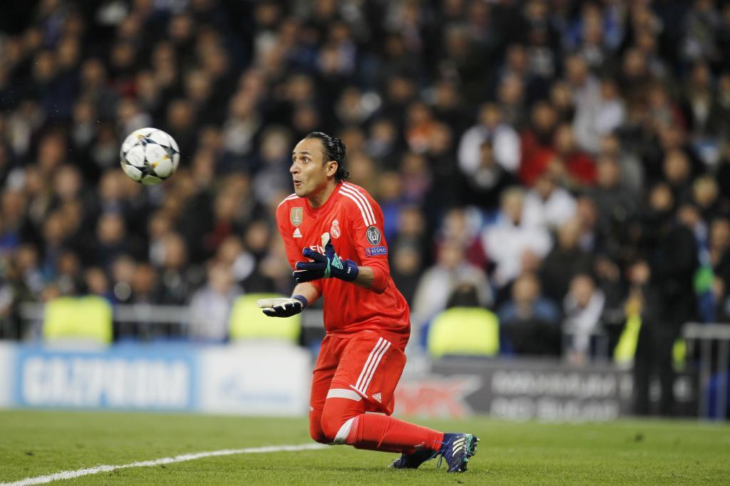 The start of Navas' error