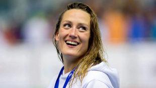 Mireia Belmonte, en los Campeonatos de España de natación