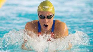 Mireia Belmonte, durante los Campeonatos de España de natación