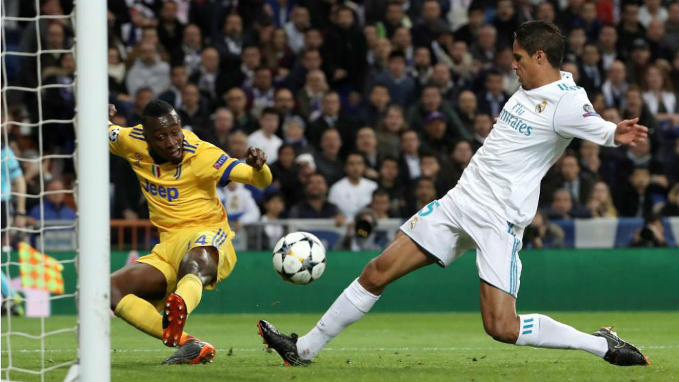 Varane, en la vuelta ante la Juventus