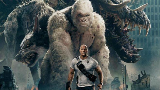 Estrenos de cine 39 proyecto rampage 39 el estreno m s for De donde es la roca