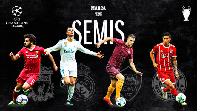 Football As It Happened Champions League Semi Finals Draw Marca