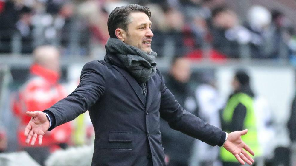 Kovac, entrenador del Eintracht Fráncfort