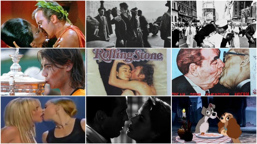 Historias detrás del día internacional del beso
