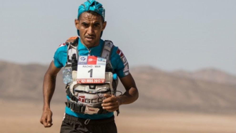 Rachid el Murabity, en el Maratón de las Arenas