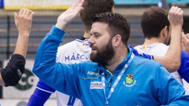 Antonio Rama, técnico del Granollers