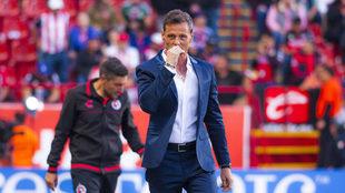 Diego Cocca, entrenador de Xolos