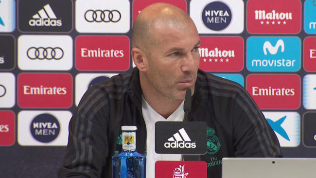 Zidane: I am annoyed that people talk about it being a robbery