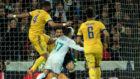 Imagen del momento del penalti