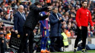 Marcelino moves to 18 matches without a victory against Barca