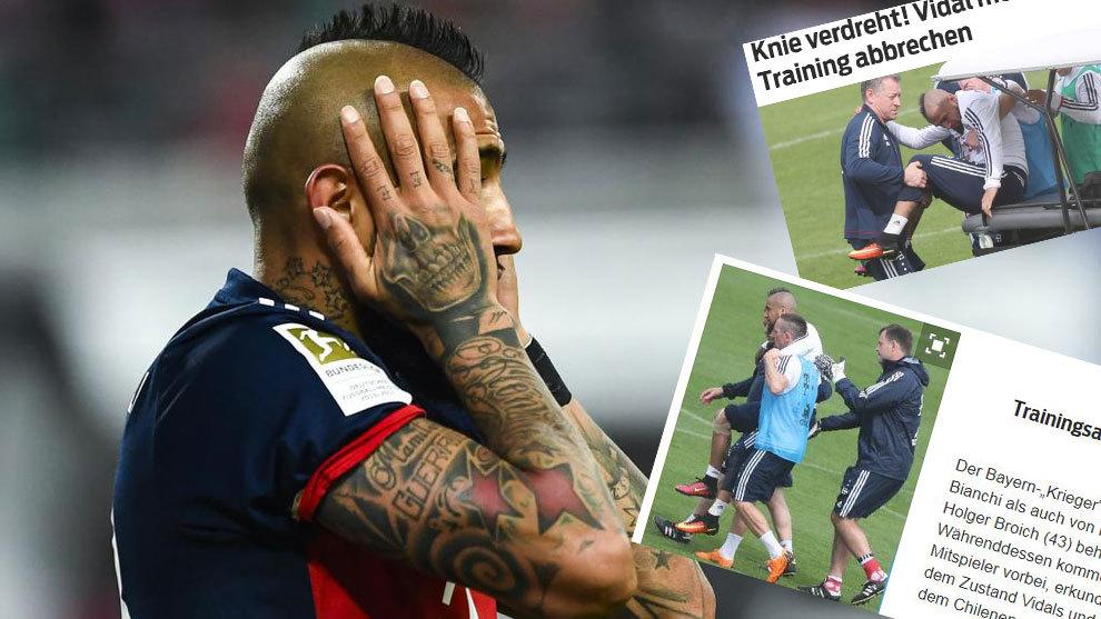 """Arturo Vidal """"Real""""ga qarshi uchrashuvni o'tkazib yuborishi mumkin"""
