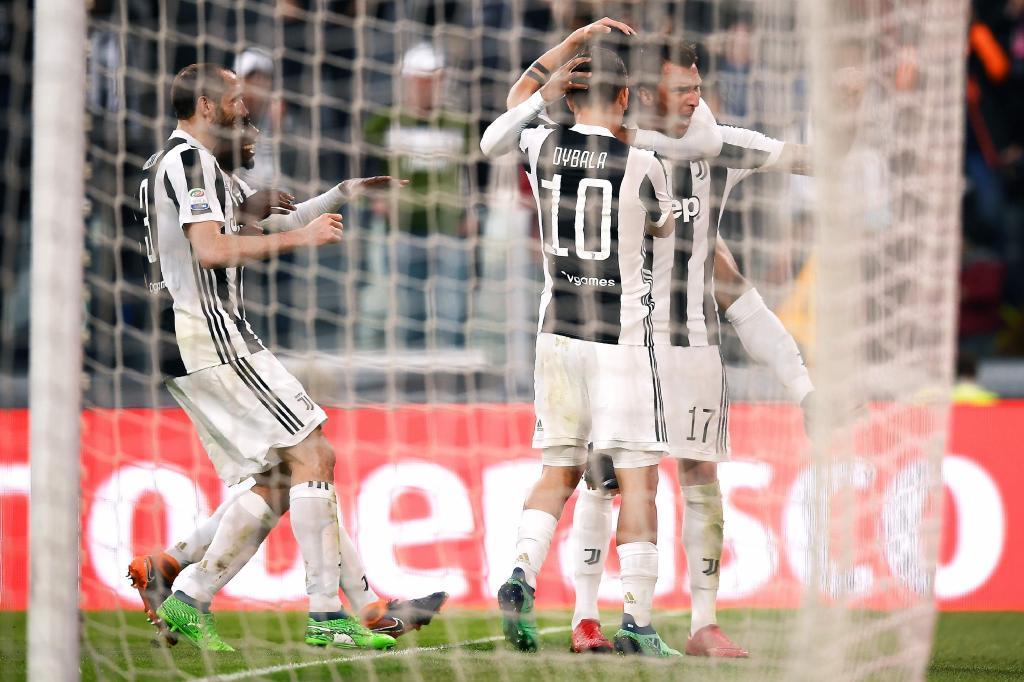 Juventus goleó a Sampdoria y allanó su camino al título