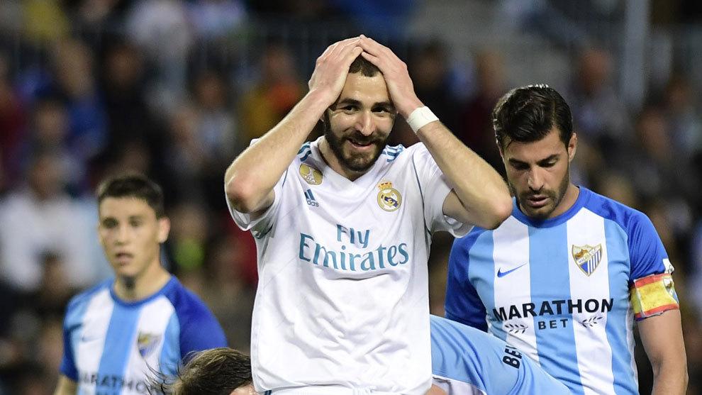 4bf8d2a1e LaLiga - Malaga 1-2 Real Madrid  Karim Benzema is a unique case ...